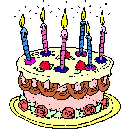 Fete ses 6 ans - Dessin bougies anniversaire ...